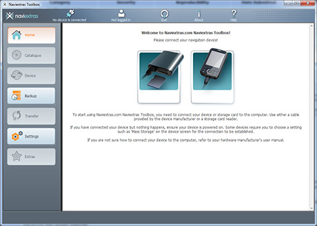 naviextras toolbox for windows 10